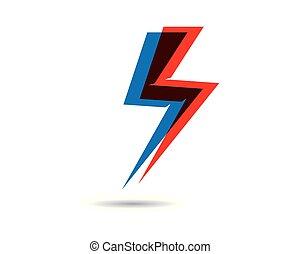 Power logo template vector icon illustration design