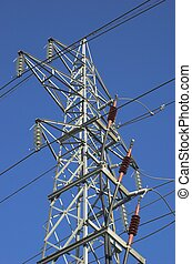 Power Mast with Fixtures