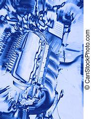 Power of car engine