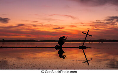 Power Of Prayer Cross