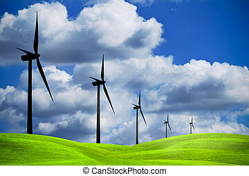 Power of wind