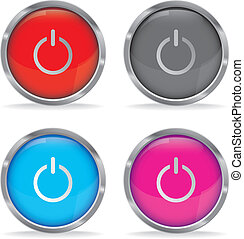Power On button