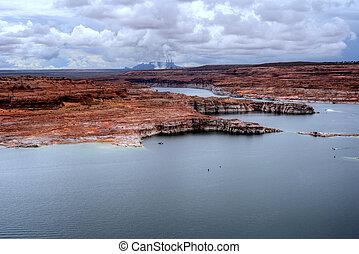 Power Plant Lake Powell Arizona