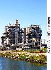 Power Plant - Natural gas power plant near Ventura...