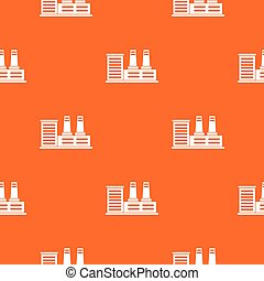 Power plant pattern seamless