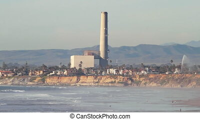 Power plant located in Carlsbad, California