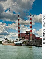 Power Plant Ship