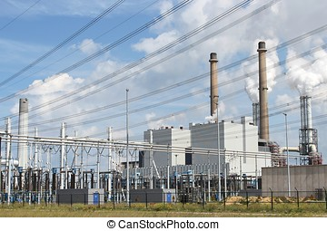 power plant - coal-fired power plant
