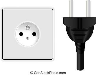 Power Plug and Socket