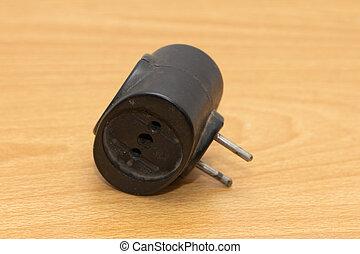 Power plug travel adapter