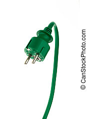power plug with power cord - a power connector and a power ...