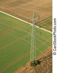 Power Pole from above