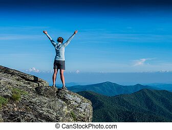 Power Posing on a Ridge Top