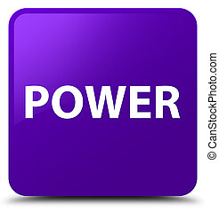 Power purple square button