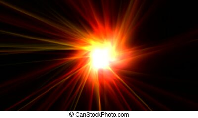 power rays laser and fire