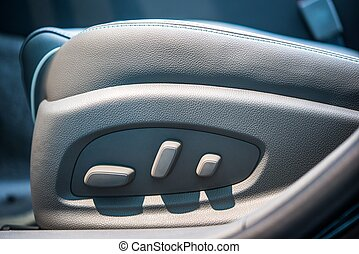 Power Seat in a Car
