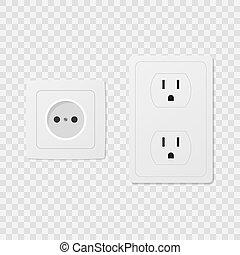 Power socket set