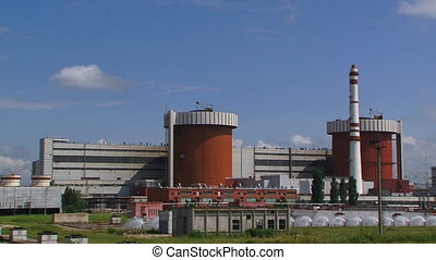Power station - A huge corps of nuclear power stations...