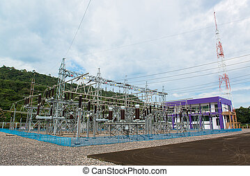 Power station for making electric