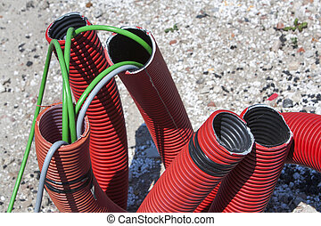 Power supply cables