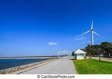 Power Supply, Storm, Wind, Winter, Flevoland