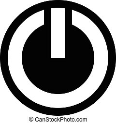 Power Symbol Vector Icon