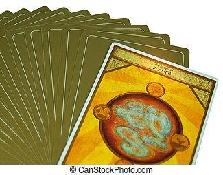 Power - Tarot card saying power