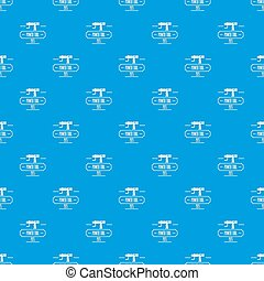 Power tool pattern seamless blue repeat for any use