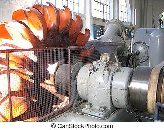 Power turbine - Power generator turbine in a water power...