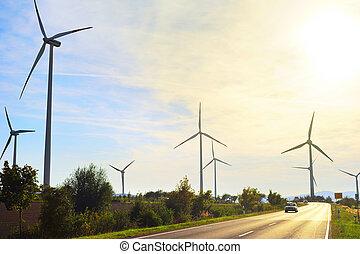 Power wind energy