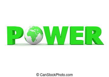 Power World Green