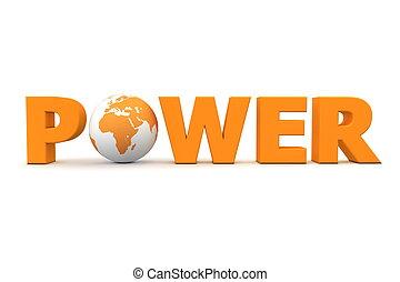 Power World Orange