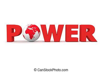 Power World Red
