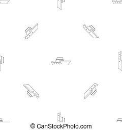 Powerboat pattern seamless repeat geometric for any web ...