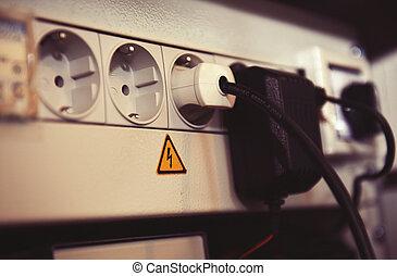 Powerfil multiple socket outlet 220V