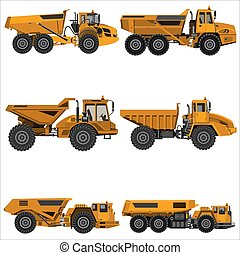 powerful articulated dump truck - Powerful articulated dump ...