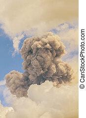 Powerful Ash Explosions Of Tungurahua, Ecuador - Tungurahua...