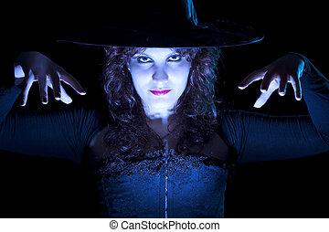 Powerful Blue Witch