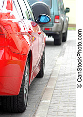 Powerful cars for active people, speed, power, energy,...
