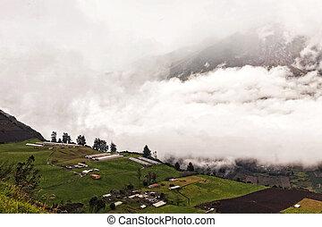 Powerful Day Explosion Of Tungurahua, Ecuador, South America
