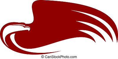 Powerful eagle
