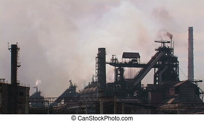 Powerful metallurgical plant.