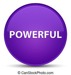 Powerful special purple round button