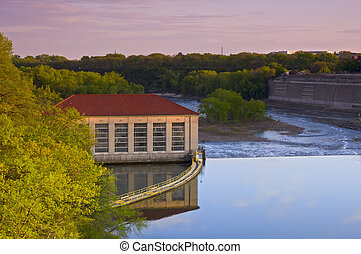 Powerhouse at Lock and Dam One