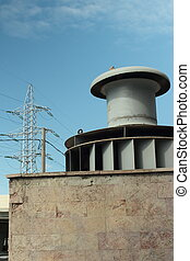 powerhouse turbine for power generation, produce electricity