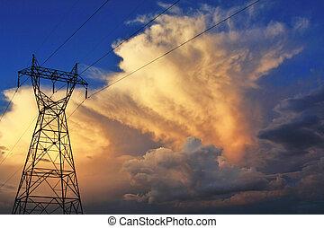 Powerline Sky
