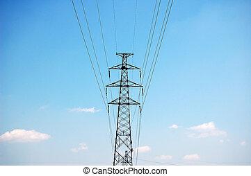 powerlines, électrique
