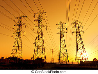 powerlines, 電気である