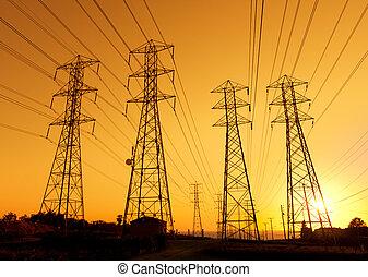 powerlines, elétrico