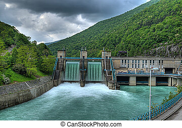 powerplant, 水力電気